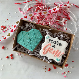 You're a Gem Decorated Cookies