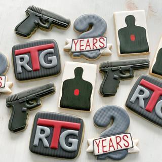 RTG 2years Celebration Cookies | Simply Renee Sweets