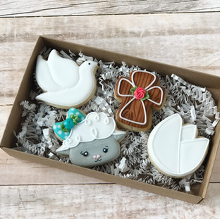 Religious Easter Decorated Cookies