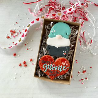 Gnome One Like You Decorated Cookies