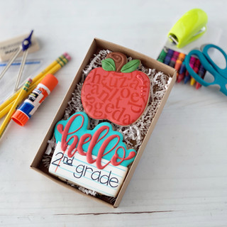 Back To School Hello Duo | Simply Renee Sweets
