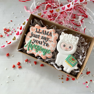 Llama Just Say... Decorated Cookies