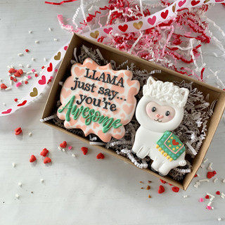 Llama Just Say... Decorated Cookies