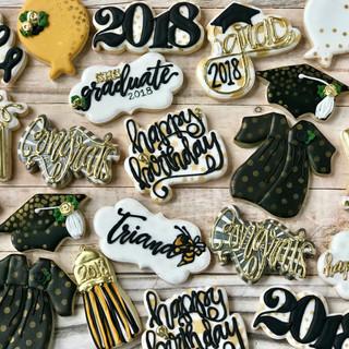 Grad 2018 Decorated Cookies | Simply Renee Sweets