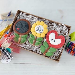 Back To School Flower Trio | Simply Renee Sweets