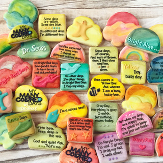 My Many Colored Days Dr. Seuss Cookies 3 | Simply Renee Sweets
