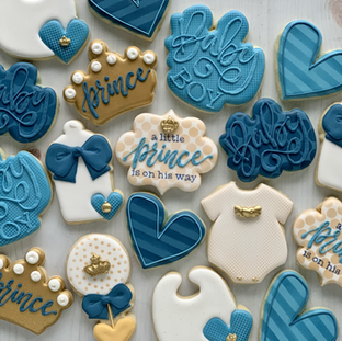 Little Prince Baby Cookies