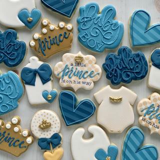 Little Prince Baby Cookies