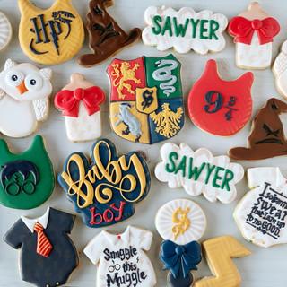 Harry Potter Baby Cookies | Simply Renee Sweets