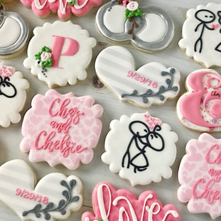 Engagement Party Cookies | Simply Renee Sweets