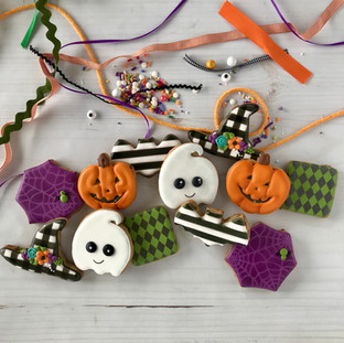 2018 Halloween Decorated Cookies