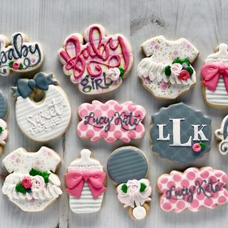 Girl Baby Cookies | Simply Renee Sweets