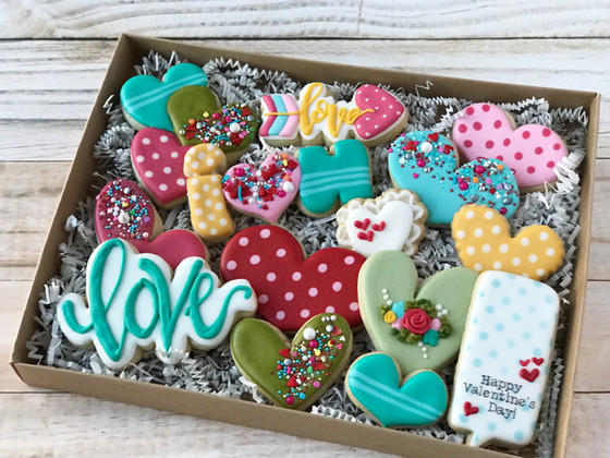Valentine's Cookies 2018