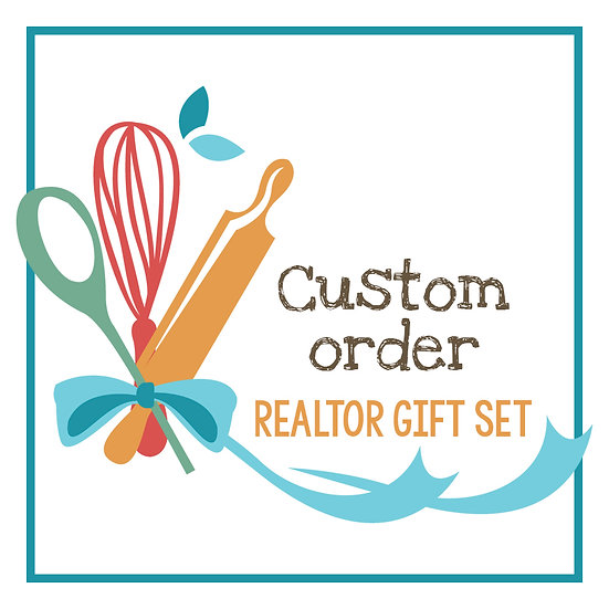 Custom Decorated Cookies Realtor Gift Sets