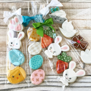 Easter Minis Decorated Cookies