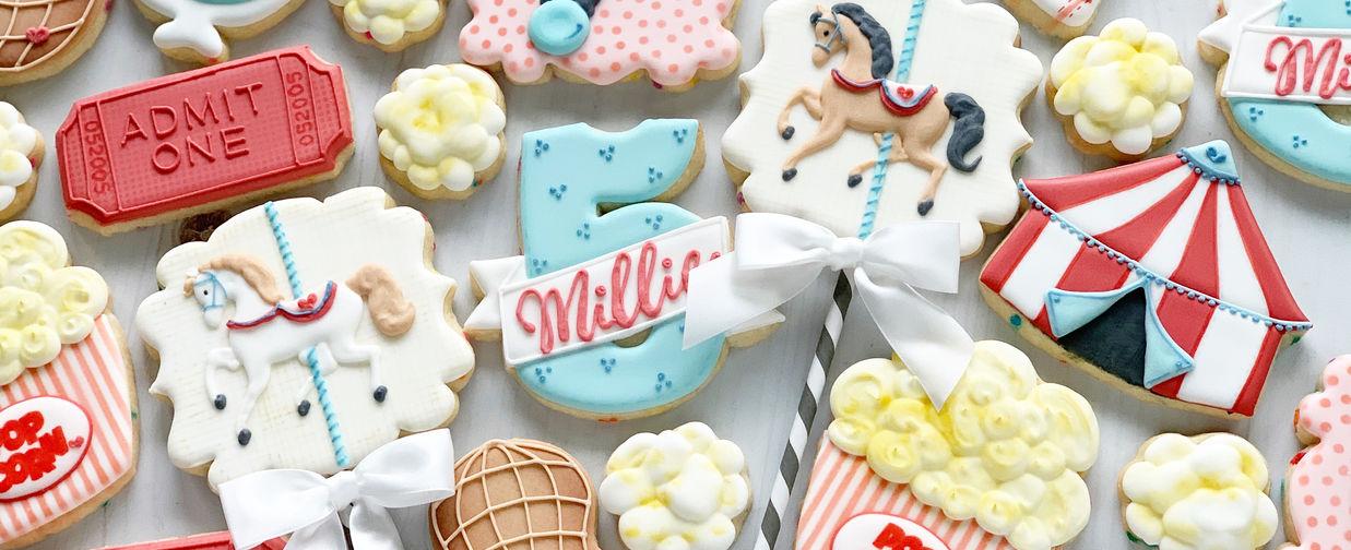 Millie's 5th Circus Birthday Cookies.JPG