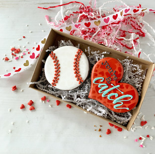 You're a Catch Decorated Cookies