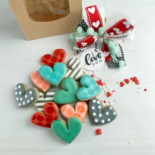 Valentine 2019 Minis Decorated Cookies