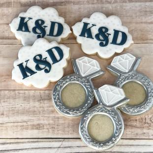 Bridal Shower Cookies | Simply Renee Sweets