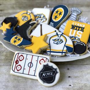 Nashville Predators Cookies Full Set | Simply Renee Sweets