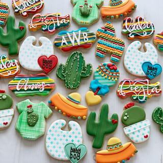 Fiesta Baby Cookies | Simply Renee Sweets
