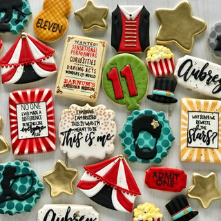 Greatest Showman Birthday Cookies | Simply Renee Sweets