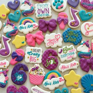 JoJo Birthday Cookies | Simply Renee Sweets