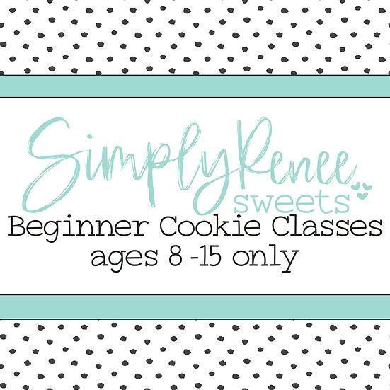 Beginner KIDS Cookie Decorating Class