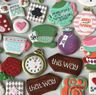 Engagment Party Cookies | Simply Renee Sweets