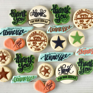 Sumner County Decorated Cookies | Simply Renee Sweets