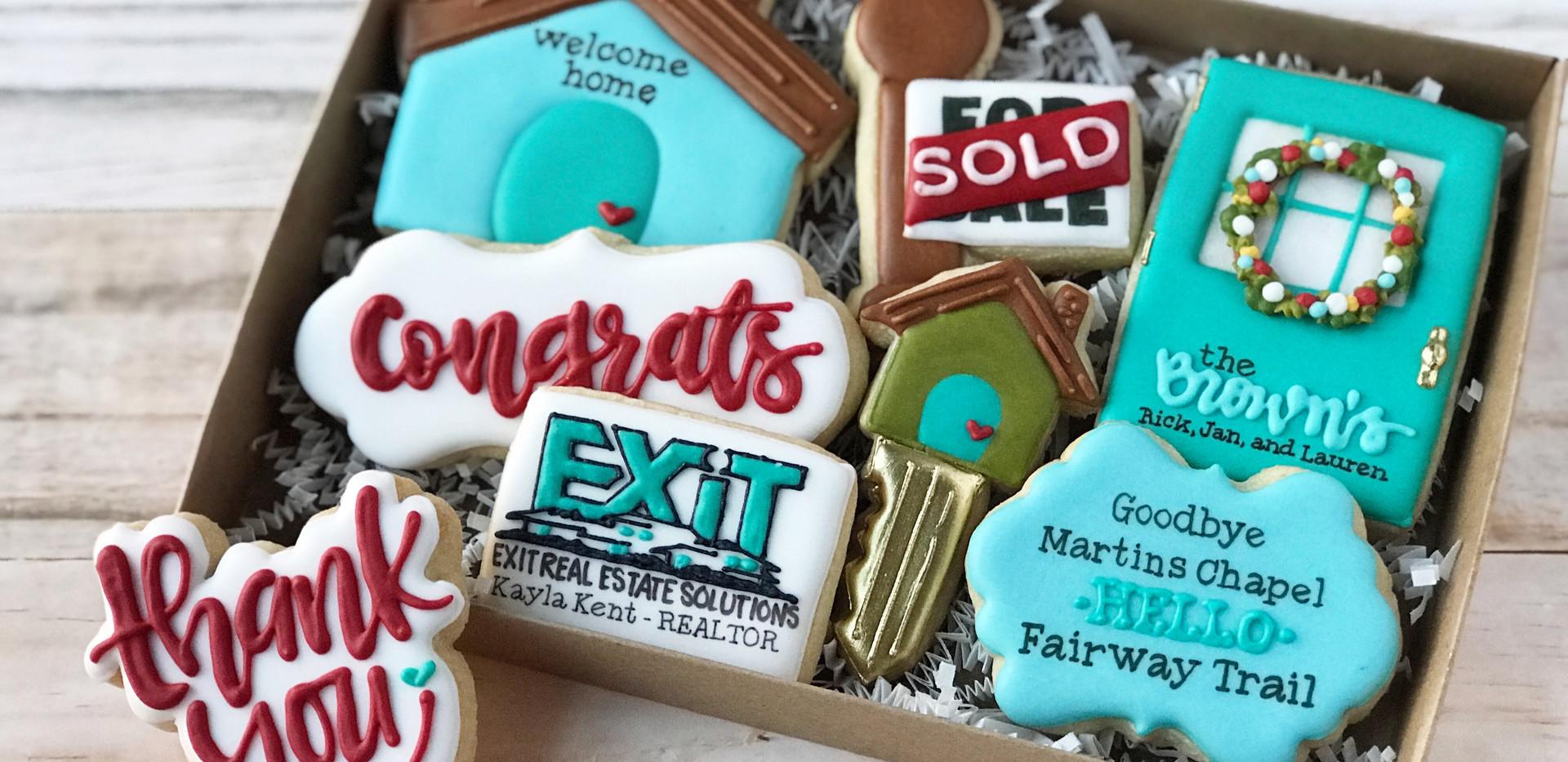 Exit Real Estate Closing Cookies _ Simpl