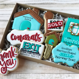 Exit Real Estate Solutions Cookies Decorated Cookies