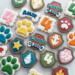 Paw Patrol Birthday Cookies | Simply Renee Sweets