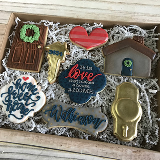 Realtor Gift Box 1 Decorated Cookies