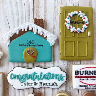 Winter Burnett Real Estate Group Welcome Home Cookies 3