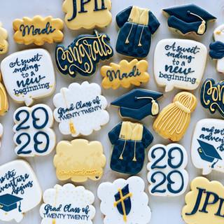 JPII Graduation Cookies