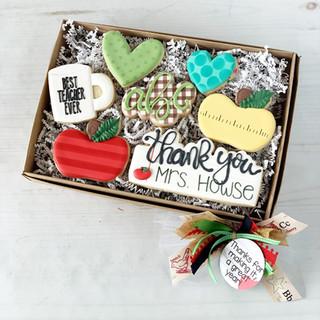 2019 Teacher Thanks Gift Box | Simply Renee Sweets