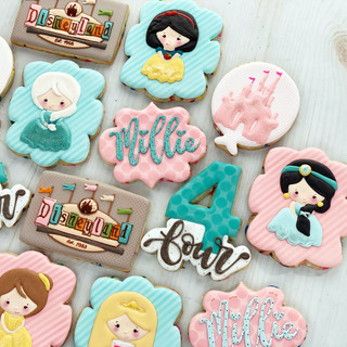 Vintage Princess Birthday Cookies | Simply Renee Sweets