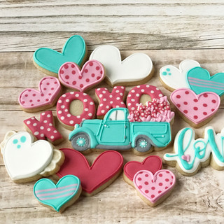 Loads of Love Decorated Cookies