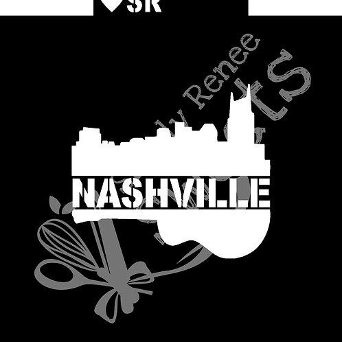 Nashville Strong Cookie Stencil