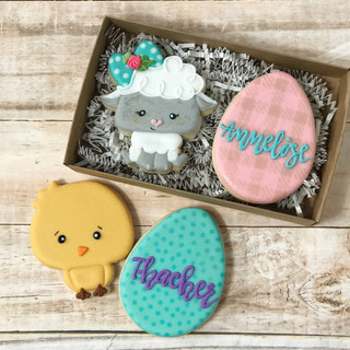 Easter Decorated Cookies