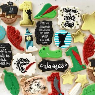Peter Pan Birthday Cookies   Simply Renee Sweets