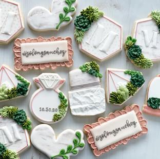 Marbled Wedding Cookies