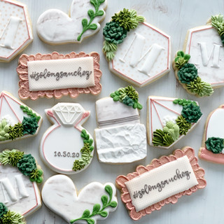 Marbled Wedding Cookies