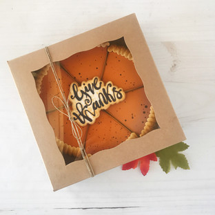 Fall 2018 Decorated Cookies Box Pie