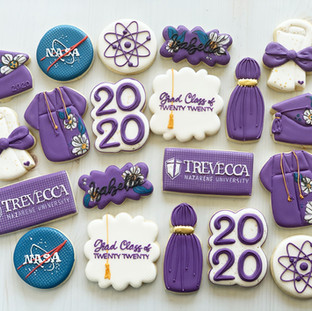 Trevecca Graduation Cookies