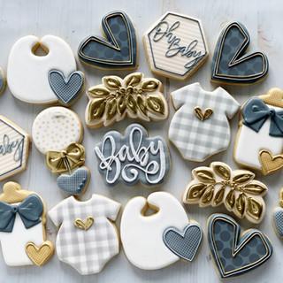 Gender Neutral Baby Cookies