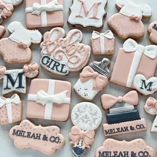Melean & CO Baby Cookies | Simply Renee Sweets