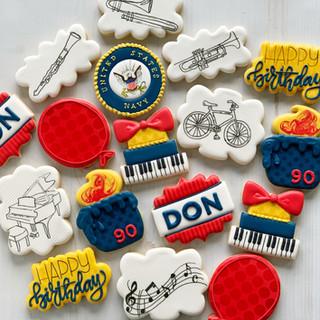 Don's Birthday Cookies