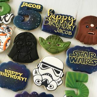 Jacob Star Wars Birthday Cookies | Simply Renee Sweets